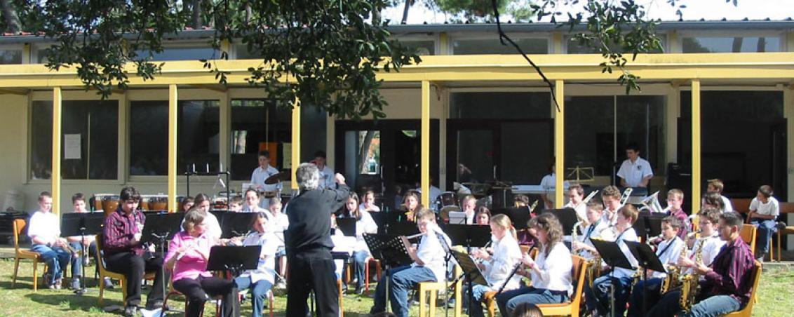 Concert pour la fête de l'école de musique, 2004.