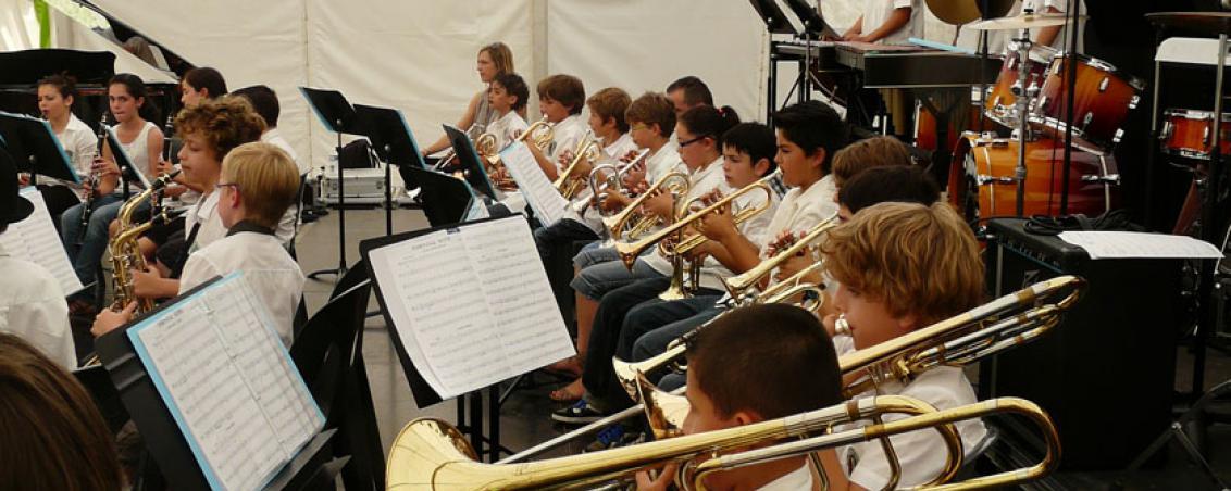 Concert de l'école de musique, zoom sur les cuivres, 2012.